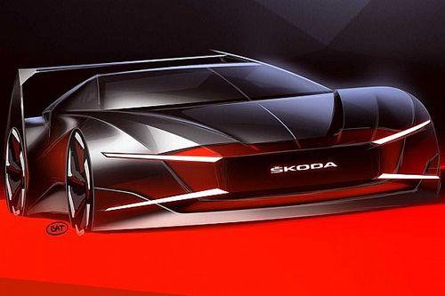 Skoda renders forgotten 'vampire' sportscar