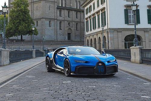 Präsentation des Bugatti Chiron Pur Sport in Zürich