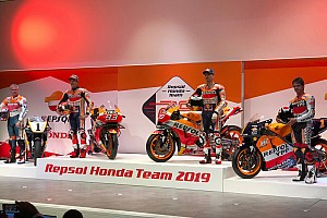 Repsol Honda, 2019 MotoGP motosikletini tanıttı!