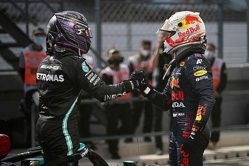 """Knoors: """"Verstappen moet niet in mentaal spelletje Hamilton trappen"""""""