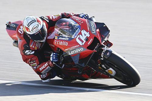 Dovizioso bardziej zadowolony, niż Ducati