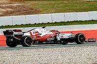 Кубица провел обкатку новой машины Alfa Romeo в Барселоне