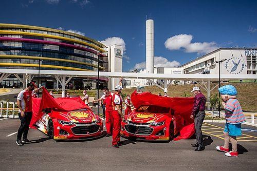 Stock Car: Shell e Pole Motorsport lançam carro de 2021 e firmam parceria com Hospital Erastinho em Curitiba