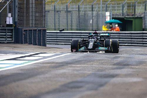 VÍDEO: Veja a 'escapada' que quase tirou Hamilton de GP da F1 em Ímola