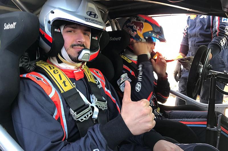 Video super test Hyundai: una prova speciale in Sardegna con Sordo sulla i20 WRC