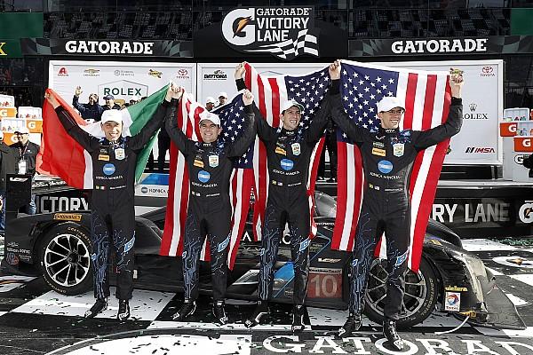 IMSA Отчет о гонке Судьбу победы в «Дайтоне» решило столкновение за четыре круга до финиша