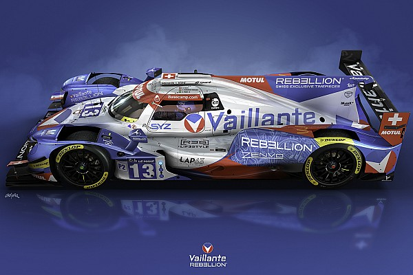 WEC Diaporama La livrée Vaillante Rebellion pour Le Mans dévoilée