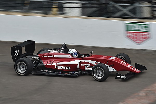 USF2000 Race report Indy GP USF2000: Askew dominates first race