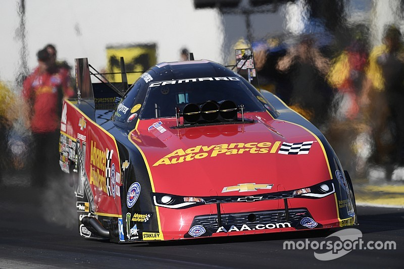 C. Force, Kalitta, Laughlin lead Day 2 at NHRA Spring Training