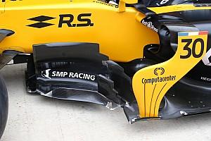 Formula 1 En iyiler listesi Teknik galeri: Renault RS17'nin 2017'deki gelişimi