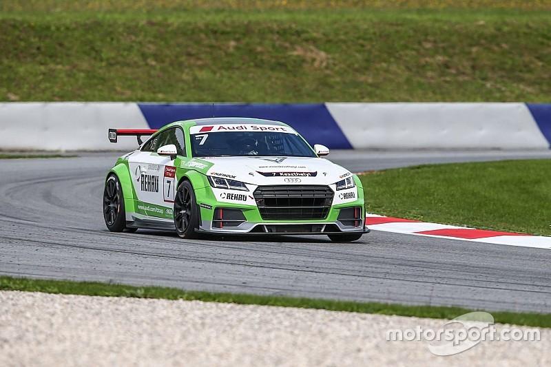 Audi TT Cup: Masters nyert, Keszthelyi a 10. helyen végzett