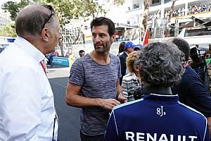 """Formule E Nieuws Webber: """"Formule E moeilijkste raceklasse ter wereld"""""""
