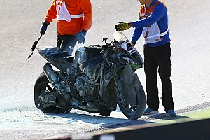 World Superbike Breaking news Sykes ruled out of Portimao after fiery FP3 crash