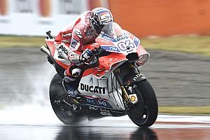 MotoGP Noticias Dovizioso lidera la segunda práctica en Motegi
