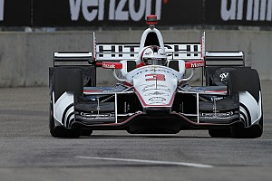 IndyCar Verslag vrije training IndyCar Detroit: Castroneves en Rahal snelste in trainingen
