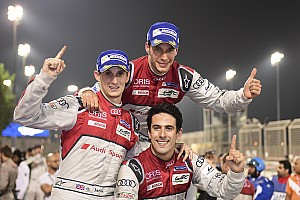 WEC Race report Bahrain WEC: Audi signs off with victory, Porsche takes title