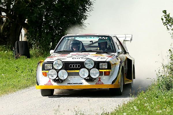 Bildergalerie: Die legendären Rallyeautos der Gruppe B in Saalfelden