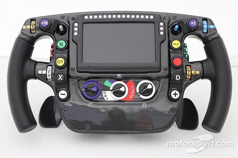 تحليل تقني: مقود سيارة مكلارين للفورمولا واحد