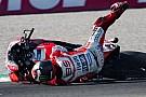 Lorenzo vergleicht: Stürze mit Ducati anders als mit Yamaha