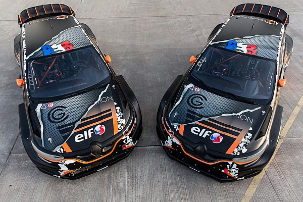 GCK's new Renault Megane World RX car officially unveiled