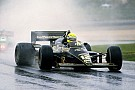 Photos - La première victoire d'Ayrton Senna en F1
