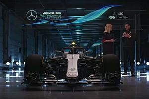 F1 Noticias de última hora Mercedes presenta el W09, el coche con el que buscarán el quinto título