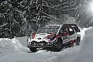 Ралі Швеція: міні-перемога Toyota на старті