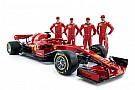 Formula 1 Ferrari: alla presentazione della SF71H c'erano anche Giovinazzi e Kvyat