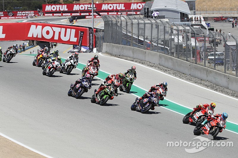 World Superbike won't return to Laguna Seca in 2019