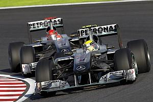 Formule 1 Diaporama Les dates clés du retour de l'équipe Mercedes en F1
