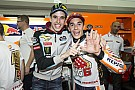VIDEO: Marc Marquez menyaksikan adiknya tes MotoGP