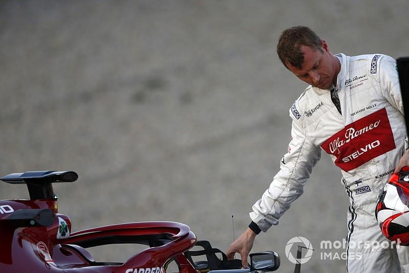 Raikkonen, Alfa Romeo'daki yarış koltuğunu tamir etti!