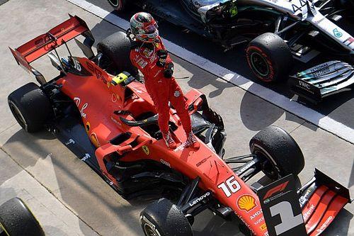 F1: Veja o que Leclerc fez com a Ferrari com que venceu em Monza e Spa