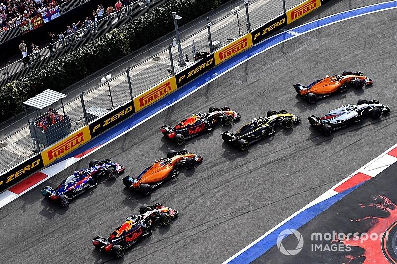 Photos - La course du Grand Prix de Russie 2018