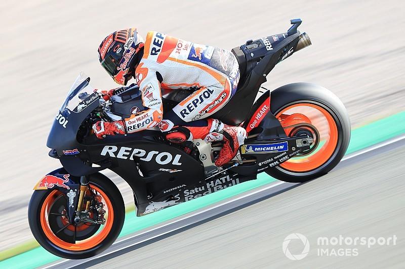 Khawatirkan cedera, Honda batasi Marquez