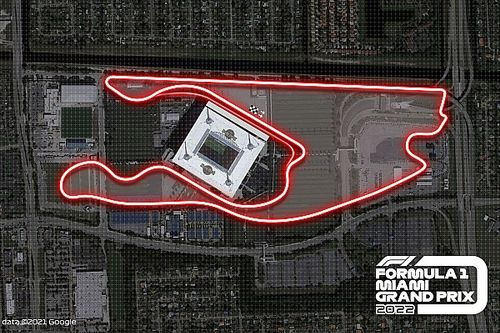 Vídeo: La F1 exhibe la vuelta al circuito de Miami en cámara on board