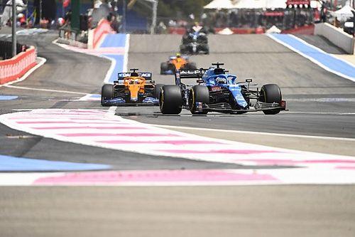 Риккардо: Гонка Ф1 была такой же крутой, как в Формуле 3
