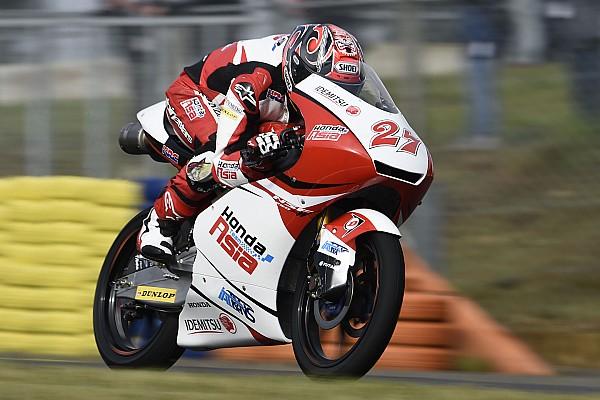Moto3 【Moto3】リタイアの鳥羽「最後5周で順位を上げられていたのに残念」