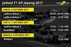 Formula 1 Preview Jadwal lengkap F1 GP Jepang 2017