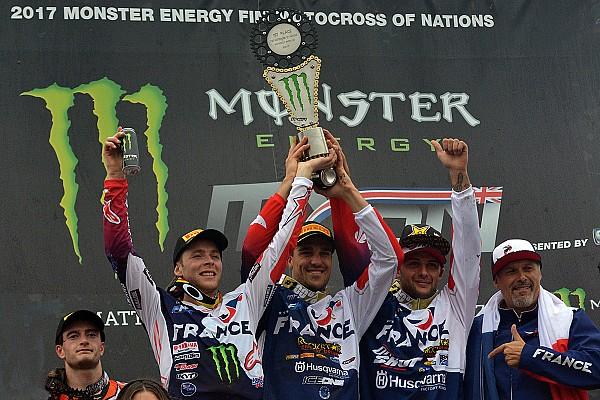 Mondiale Cross MxGP Gara Motocross of Nations: la Francia rispetta i pronostici e fa poker