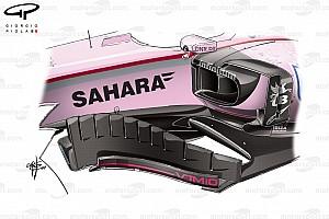Formel-1-Technik: So optimierte Force India in Bahrain den VJM10