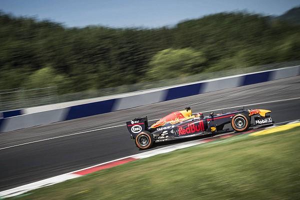 Формула 1 Самое интересное Видео: Ожье протестировал машину Red Bull Racing