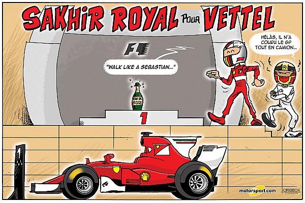 Formule 1 Contenu spécial Le Grand Prix de Bahreïn 2017 vu par Cirebox