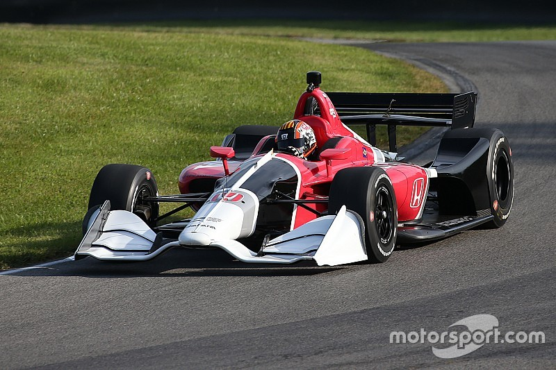 Indycar S 2018 Road Course Body Kit Hits The Track