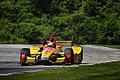 IndyCar Road America IndyCar: Hunter-Reay tops warm-up