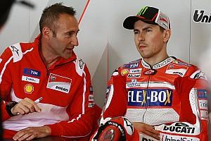 MotoGP Breaking news Lorenzo: Ducati should adopt Yamaha's chassis philosophy