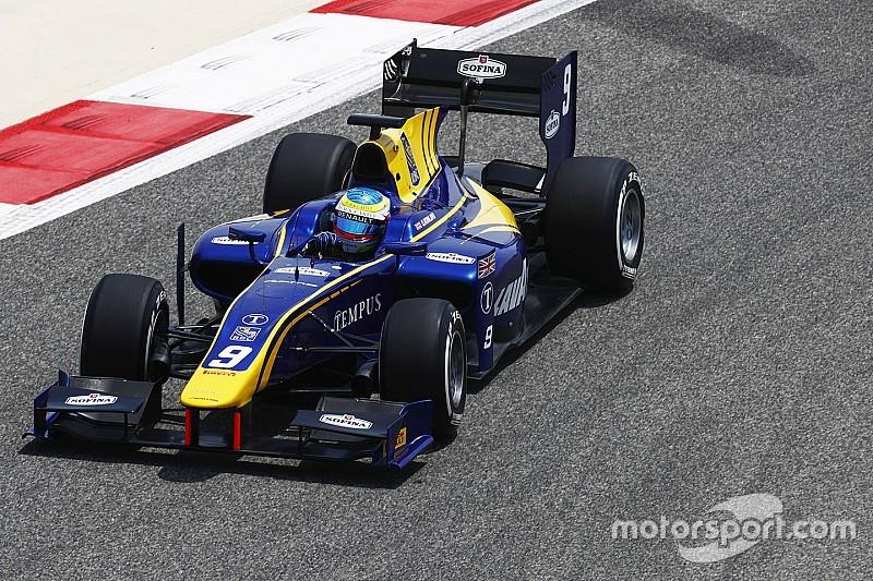 Rowland lidera la primera práctica de la nueva era de la F2