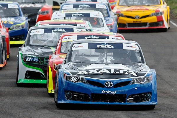 NASCAR Mexico Reporte de la carrera Abraham Calderón gana en Guadalajara y aprieta pelea por el título