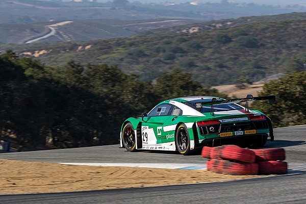 California 8 Hours: Haase takes pole for Audi, Land