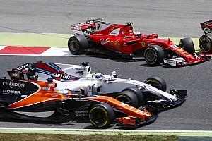 Формула 1 Самое интересное Авария на старте Гран При Испании: как это было